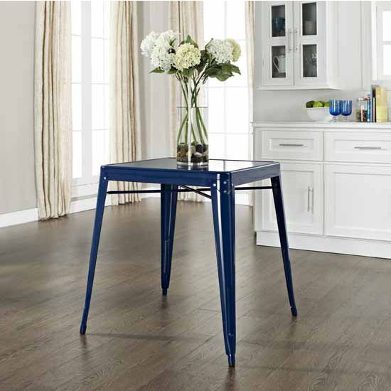 Crosley Furniture Amelia Metal Caf� Table, 26''W x 26''D x 30''H
