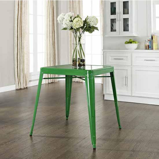 Crosley Furniture Amelia Metal Café Table, 26u0027u0027W X 26u0027u0027D