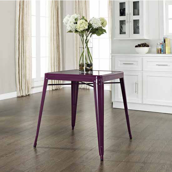 Crosley Furniture S Amelia Metal Caf Table Features A