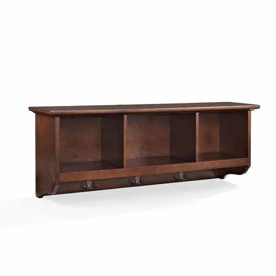 Crosley Furniture Brennan Entryway Storage Shelf With