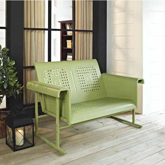 Crosley Furniture Veranda Loveseat Glider