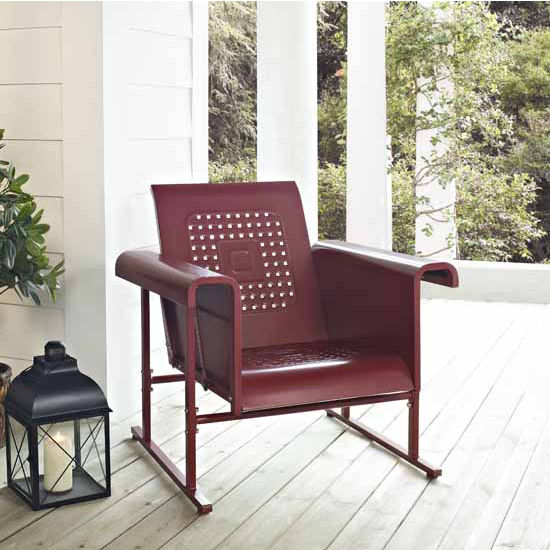 Crosley Furniture Veranda Single Glider Chair