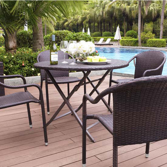 Palm Harbor 5 Piece Cafe Dining Set