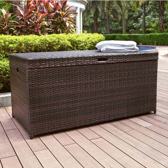 Wicker Storage Bin