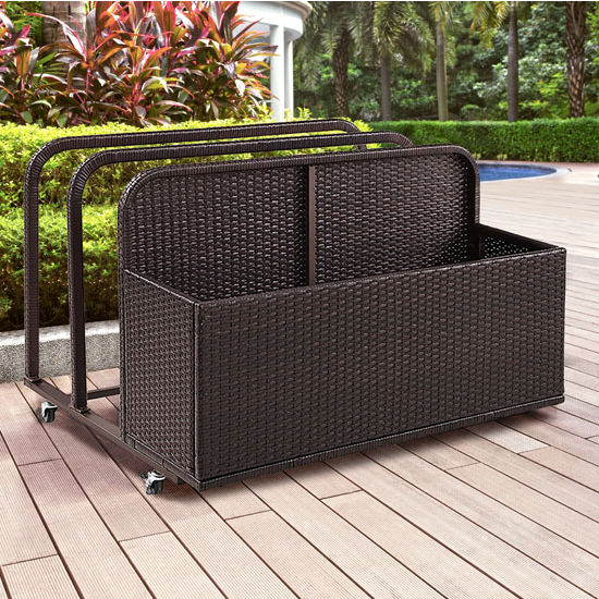 Crosley Furniture Palm Harbor Outdoor Wicker Float Caddy