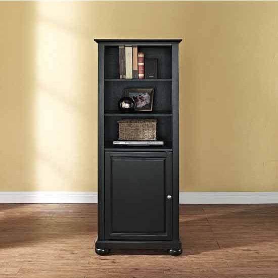 "Crosley Furniture Alexandria 60"" Audio Pier, 18''W x 24''D x 57''H"