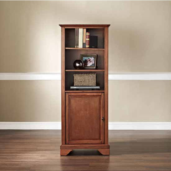 "Crosley Furniture Lafayette 60"" Audio Pier, 18''W x 24''D x 57''H"