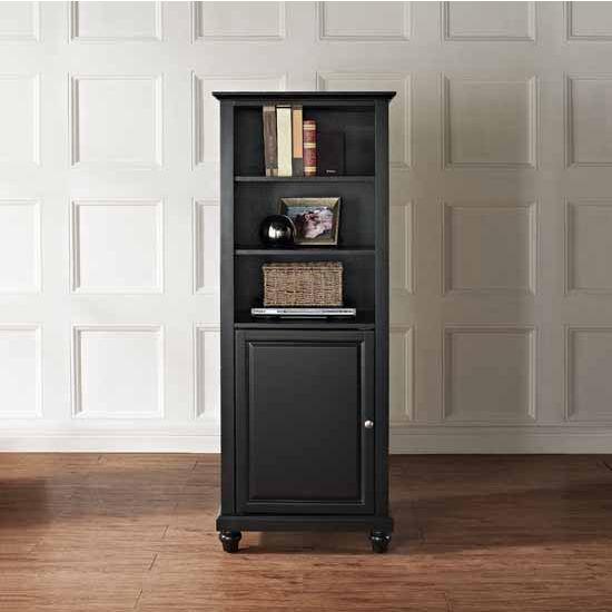 "Crosley Furniture Cambridge 60"" Audio Pier, 18''W x 24''D x 57''H"