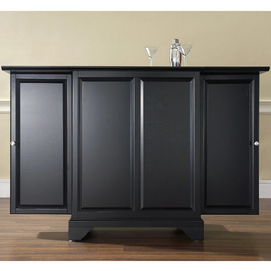 Crosley Furniture LaFayette Expandable Bar Cabinet In