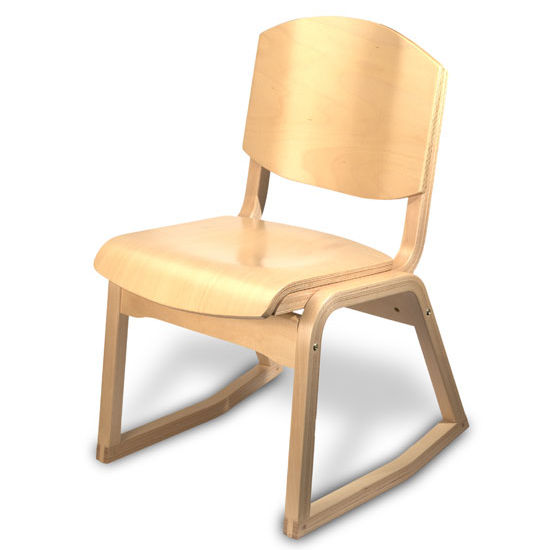 All-Wood Campus 2-Position Chair by Cambridge