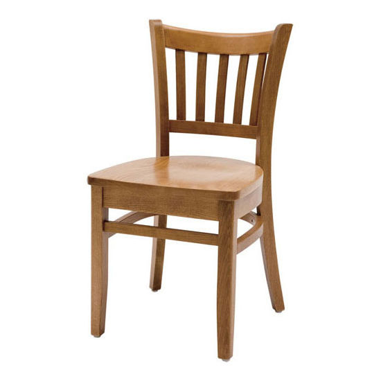 Cambridge - Grill Side Chair w/ Wood Seat