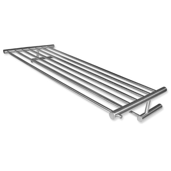 Cool-Line Stainless Steel Towel Shelf with Towel Bar