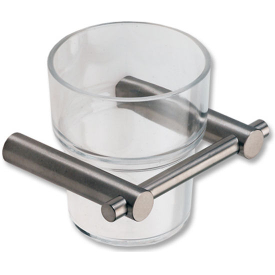 Cool-Line Polished Stainless Steel Tooth Mug/Tumbler Holder