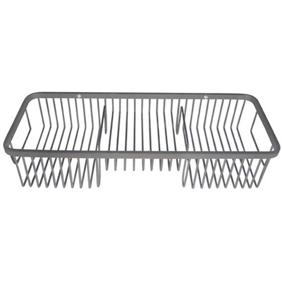 Cool-Lines Multi-Level Combination Wire Basket, Satin or Polished Stainless Steel