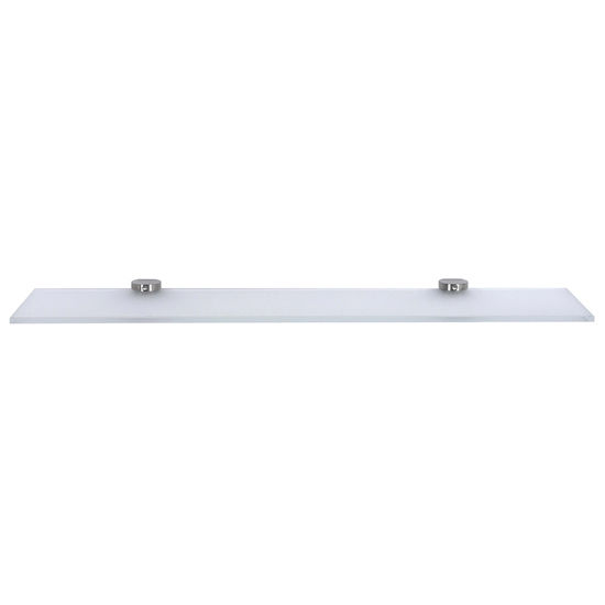 Cool Lines Cystal Steel Collection Stainless Steel 20'' Bathroom Toiletry Shelf in Satin Finish