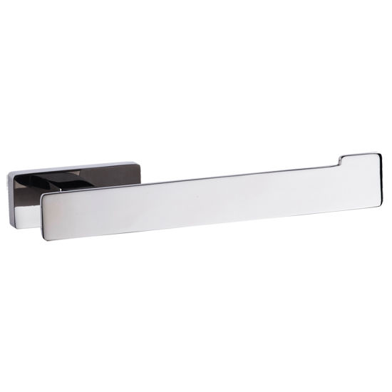 Cool Lines Penthouse Collection Stainless Steel Bathroom Toilet Paper Holder in Polished Finish