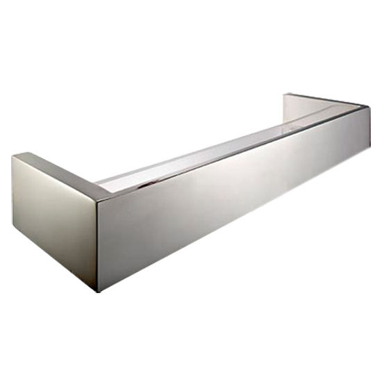 Cool Lines Platinum Collection Stainless Steel Bathroom Shower Organizer Shelf In Satin Finish