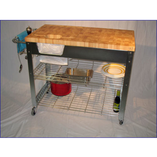 Attractive View Larger Image. Kitchen Island Work Station