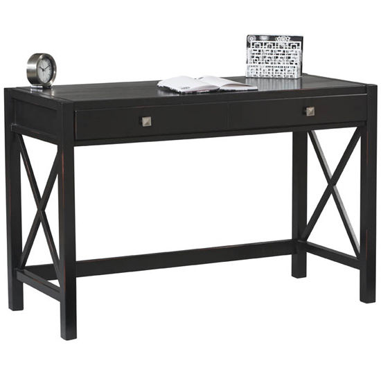 Anna Desk Black Finish