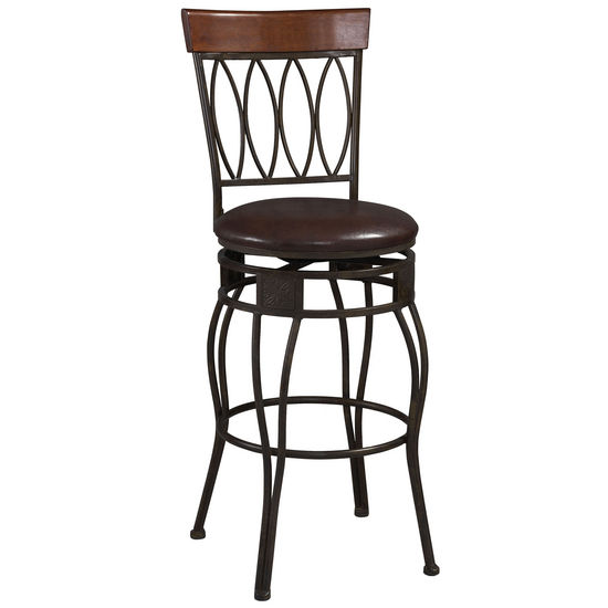 Four Oval Back Bar Stool