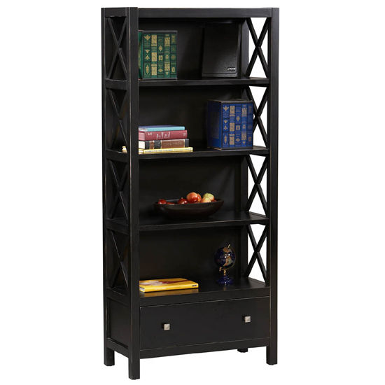 Linon Anna 5 Shelf Bookcase