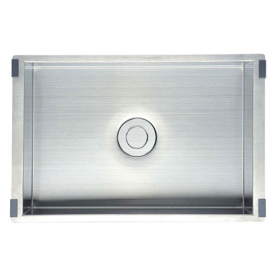 "Dawn Sinks Undermount Stainless Steel Tray, 20 gauge, Satin, 11""W x 16-3/4""D x 5-3/8""H"