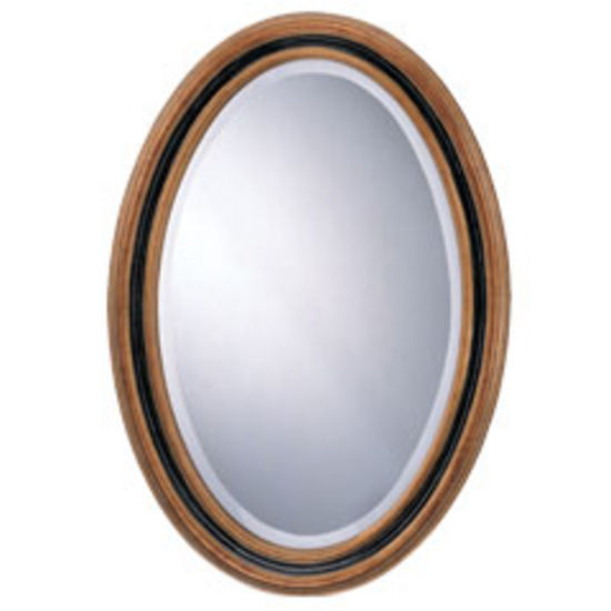 Wall Mirrors Classic Oval Mirror With Antique Gold And