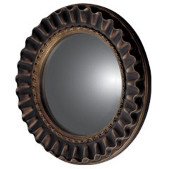 Wall Mirrors Convex Mirror Made Of Die Cast Resin And