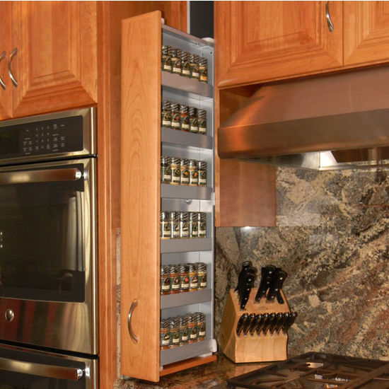 Spice Rack Patented Filler Storage System Or Pre Assembled