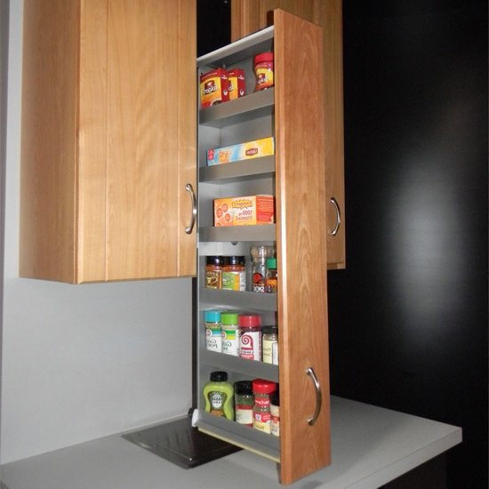 Spice Rack Patented Filler Storage System or Pre-Assembled ...