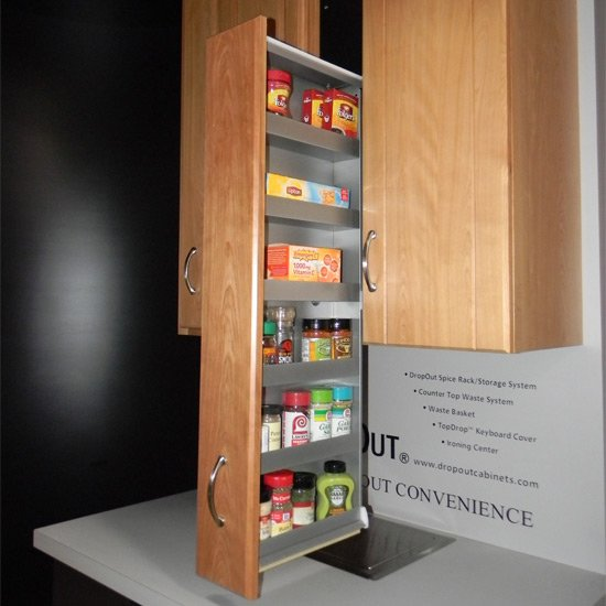 Spice Rack Patented Filler Storage System Or Pre Assembled