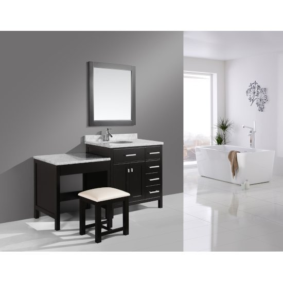 "Espresso 36"" Single Sink Vanity Set"