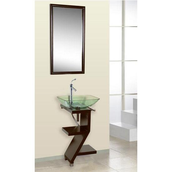 Vessel Sink Pedestal : Dreamline? Wall Mounted Vessel Sink Pedestal