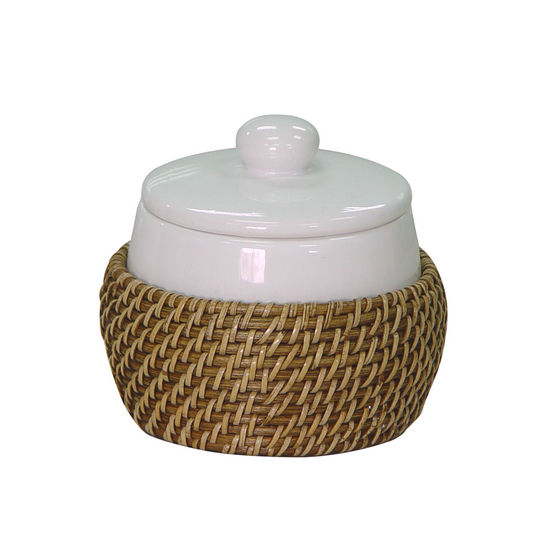 Echelon Home Hana Cotton Jar