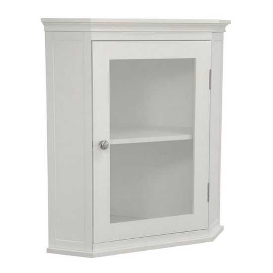 Madison Avenue Corner Wall Cabinet