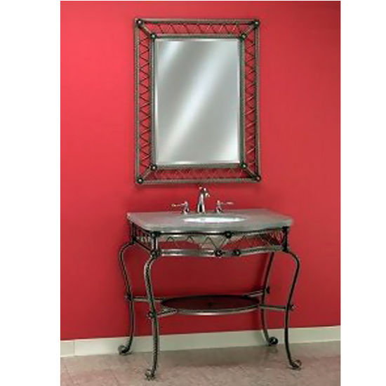 Empire Wrought Iron Console for Bathroom Vanity 104