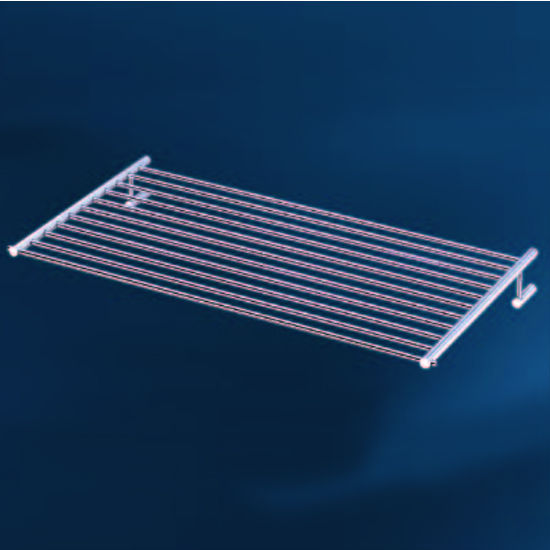 Empire Tempo Collection Polished Stainless Steel Towel Shelf/Rack