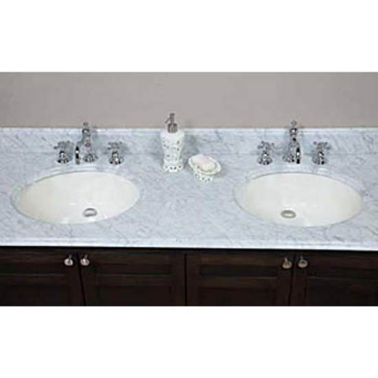 Quartz Vanity Tops : Bathroom Vanities - 61 W Euro Marble & Quartz Oval Vanity Tops ...