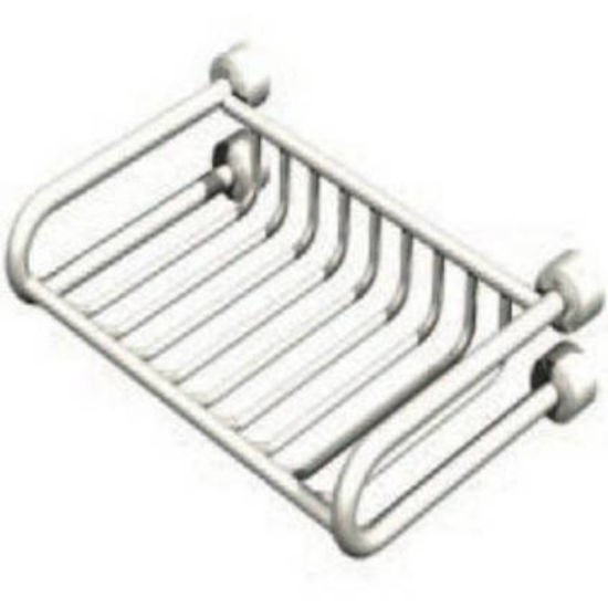 "Empire Tivoli Polished Soap Rack 5.9"" W x 4.6"" D"
