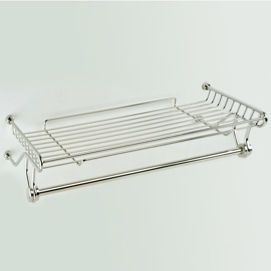 Empire Tivoli Polished Towel Rack and Rail
