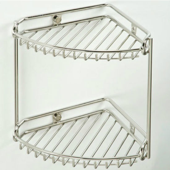 Empire Tivoli Polished 2-Tier Corner Rack