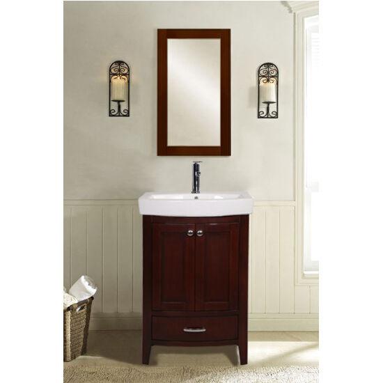 Empire Industries S Arch 28 Semi Round Black Bathroom