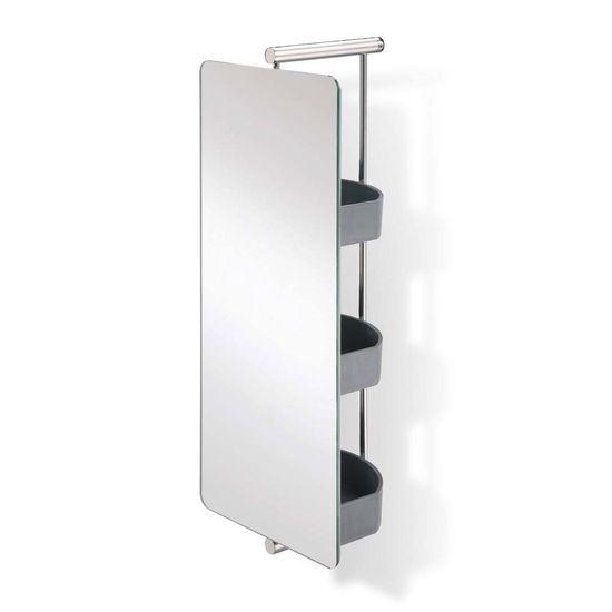 Swivel Mirror With Storage Home Design Ideas