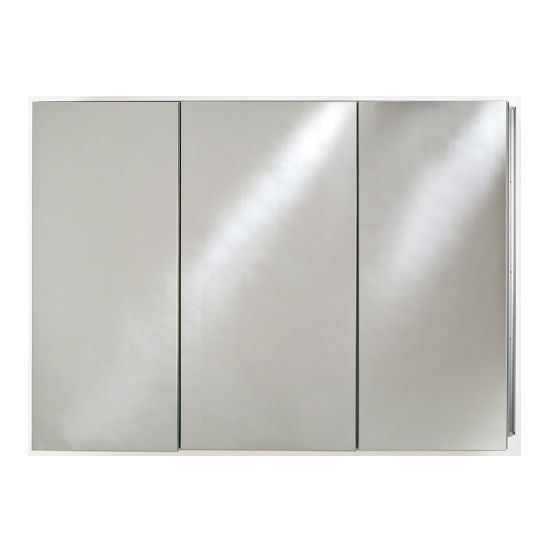 Broadway Tri-Door Recessed Medicine Cabinet