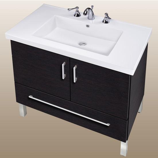 Bathroom vanities daytona 30 39 39 two doors and one bottom - Bathroom vanity with bottom drawer ...