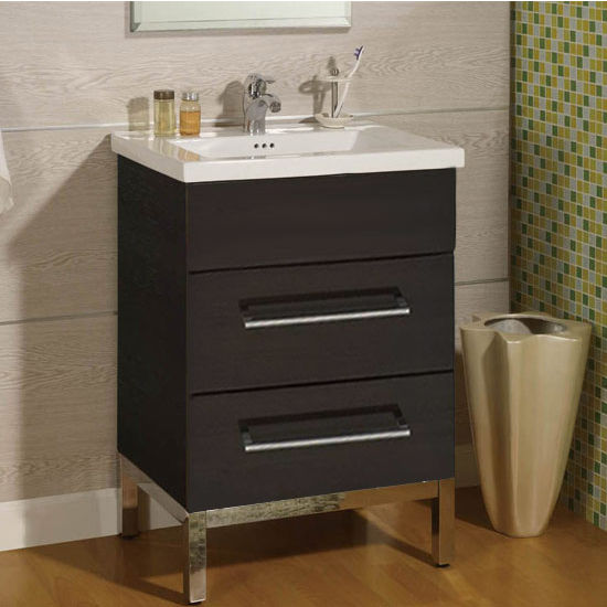 "Empire Daytona 24"" Vanity with 2 Drawers"