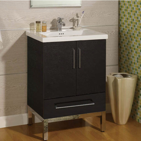 Empire Daytona 24 Vanity With 2 Doors 1 Bottom Drawer