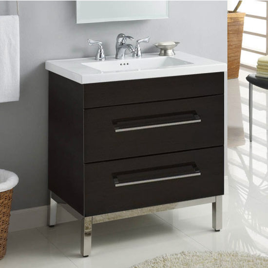 "Empire Daytona 30"" Vanity with 2 Drawers"