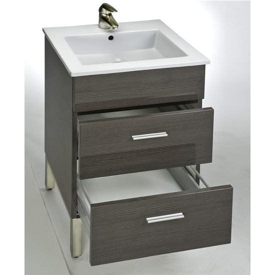 "Empire Daytona 21"" Vanity with 2 Drawers"