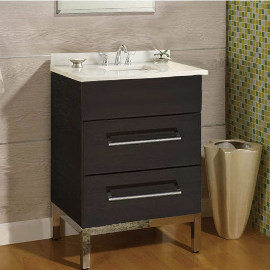 "Empire Daytona 24"" Vanity for 2522 Stone Countertops with 2 Drawers"